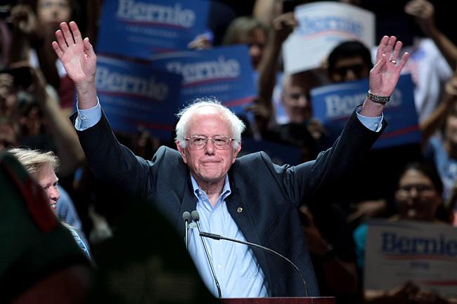 Des centaines d'artistes soutiennent Bernie Sanders - 26 février 2020 - lejournaldesarts.fr
