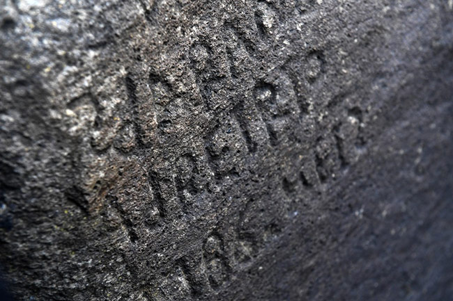 Finistère : une mystérieuse inscription sur un rocher enfin dévoilée - 25 février 2020 - lejournaldesarts.fr