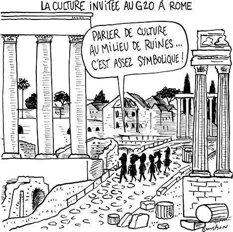 La culture invitée au G20 à Rome