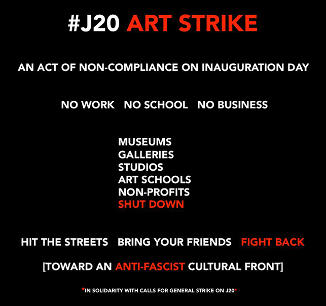 affiche de Art Strike