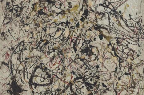 DE L'ART ...OU DU COCHON ? - Page 7 Pollock-n16-1950
