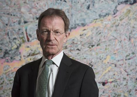 Nicholas Serota © Photo Hugo Glendinning 2016 | Courtesy Tate