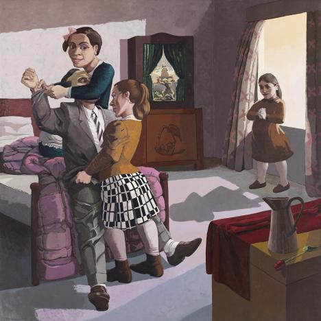 Paula Rego, <em>The Family</em>, 1988.