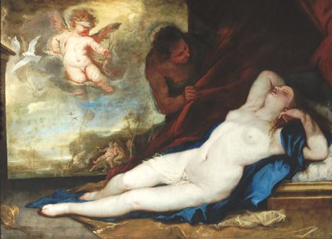 Déclaration - Alphonse Beauregard Luca-giordano-venus-dormant-avec-cupidon-satyre-venere-dormiente-con-cupido-satiro-1670-musee-de-capodimonte-naples-italie-copyright-photo-luciano-romano