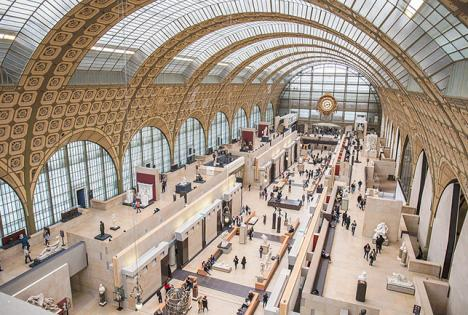 Hall principal du Musée d'Orsay. © Photo Nono vlf, 2018, CC BY-SA 4.0