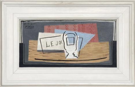Pablo Picasso Nature morte 1921 huile sur toile 22,9 cm x 45,7