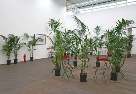 Marcel Broodthaers, Un Jardin d'Hiver, 1974, Hamburger Bahnhof, Berlin, Friedrich Christian Flick Collection. © Photo Jean-Pierre Dalbéra