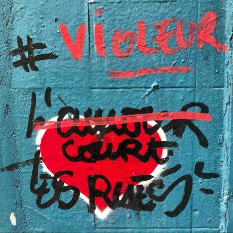 25 femmes déposent plainte contre un célèbre graffeur — Paris