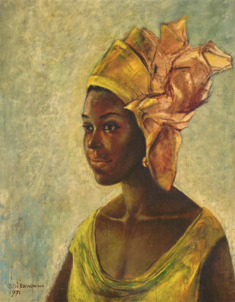 Un tableau nigérian vendu à plus d'un million d'euros — Angleterre