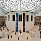 Dôme couvrant le parvis du British Museum. Londres, Royaume-Uni. 2009