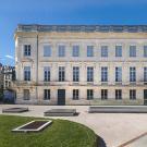 La façade et parvis du Muséum de Bordeaux - Photo F. Deval