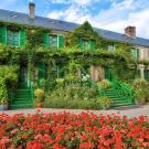 La Maison de Claude Monet à Giverny vue du Clos Normand - Photo Fondation Monet