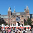 Le Rijksmuseum à Amsterdam © Photo LudoSane, 2017