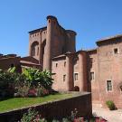 Le palais de la Berbie à Albi, qui héberge le Musée Toulouse-Lautrec - © photo Vincent Ruf