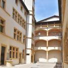 Cour du Musée Gadagne. © Photo S. Serrad / Musée d'histoire de Lyon (MHL) Gadagne