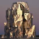 La tour Luma, siège de la fondation Luma à Arles. © Photo Hervé Hôte