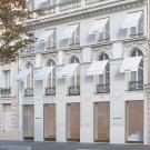 Le nouvel espace de la galerie Perrotin au 8, avenue Matignon dans le 8e arrondissement de Paris. © Atelier Senzu